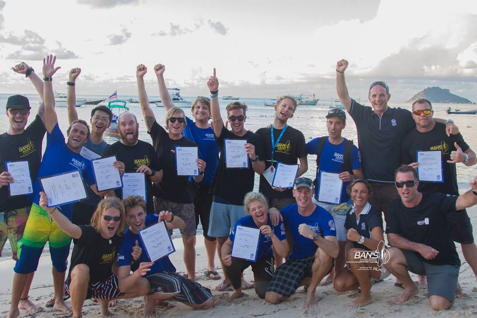 Another successful Instructor Exam with Koh Tao's most qualified and experienced Instructor Development team of Platinum PADI Course Directors at Bans Diving Resort.