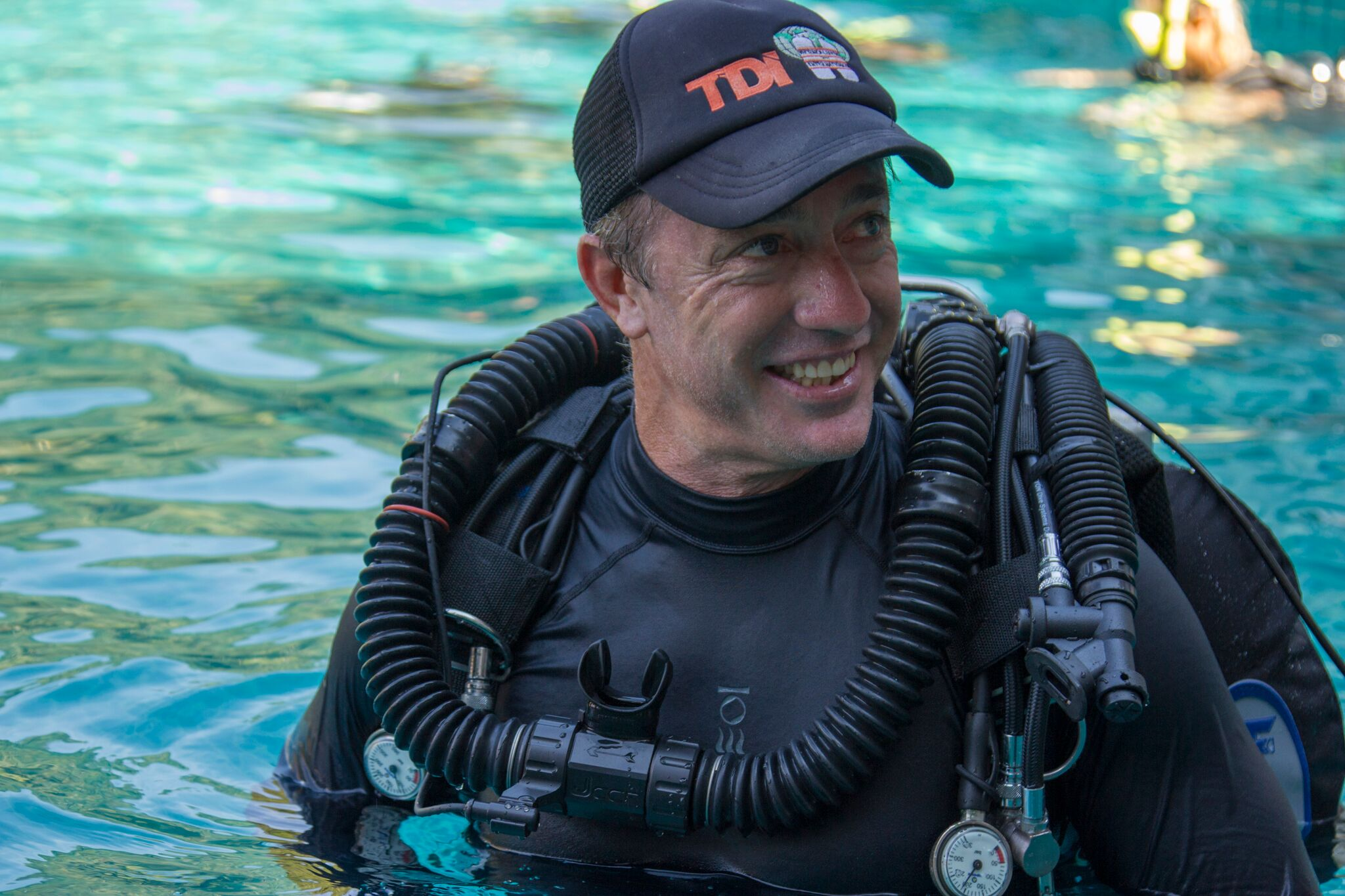 PADI CD / TDI Instructor Trainer Jeffrey Glenn.