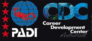 PADI CDC. Highest rating for a PADI Dive Centre